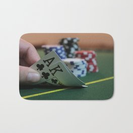 Blackjack Bath Mat