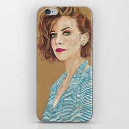 Lauren Cohan iPhone Skin