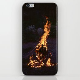 Set Fire to this world iPhone Skin