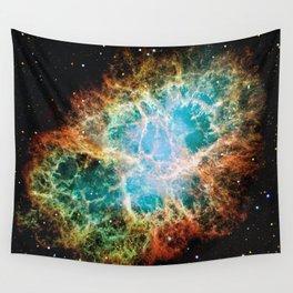 Crab Nebula Wall Tapestry