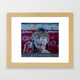 """Artificial Happyness"" Framed Art Print"