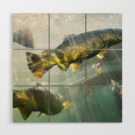 Trout Wood Wall Art