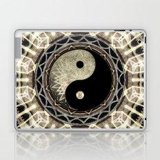 Yin Yang Geometry Mandala V1 Laptop & iPad Skin