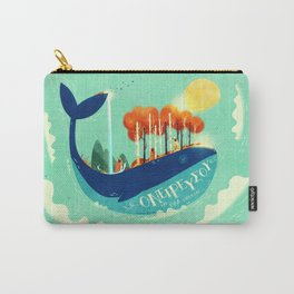 :::Tall Tree Whale::: Carry-All Pouch