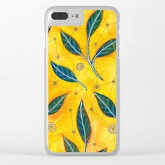 connected to nature Clear iPhone Case