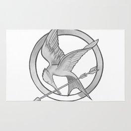 Mockingjay Symbol Rug