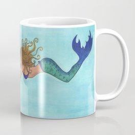 The Shark and the Mermaid Coffee Mug