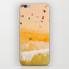 Portugal beach #society6 #decor #buyart iPhone Skin