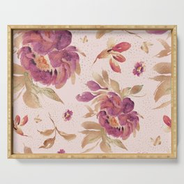 Peony in Love Serving Tray