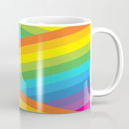 Rainbow Stripes Coffee Mug