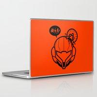 samus Laptop & iPad Skins featuring Samus by La Manette