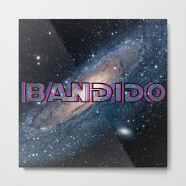 Bandido: Outlaw from Outer Space Metal Print