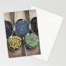 Indian Spices Stationery Cards