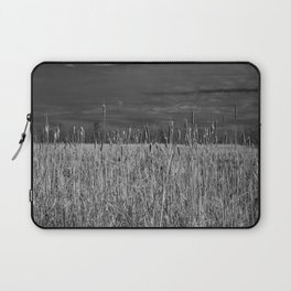 Cattails and reeds in the marsh Laptop Sleeve