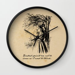 Anne of Green Gables - Kindred Spirits Wall Clock
