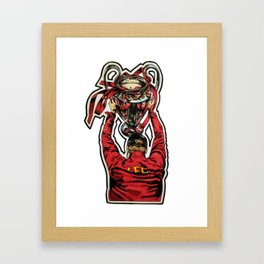 Klopp - European Champion Framed Art Print