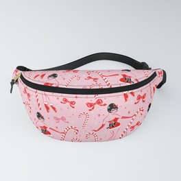 Candy Cane Girl Fanny Pack