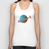 spaceship Tank Tops featuring Spaceship! by JeffMcDowallDesign