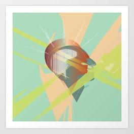 """""""Mind Over Matter"""" Art Print"""
