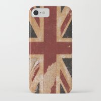 flag iPhone & iPod Cases featuring Flag by April Gann