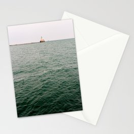 A Lighthouse View from Navy Pier, Chicago Stationery Cards
