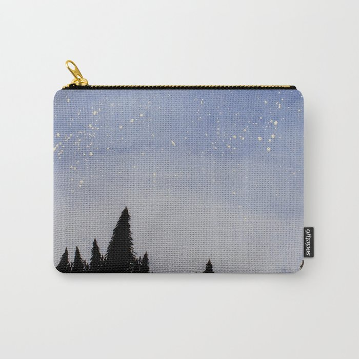 Forest Watercolors Carry-All Pouch
