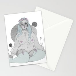 soft grey Stationery Cards
