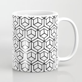 Hand Drawn Hypercube Coffee Mug