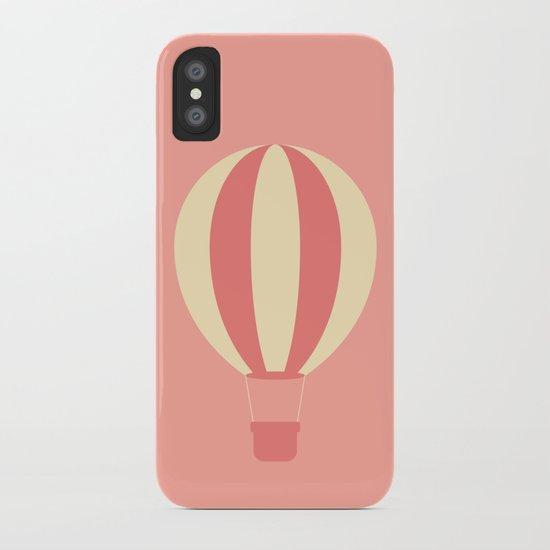 #84 Hot Air Balloon iPhone Case