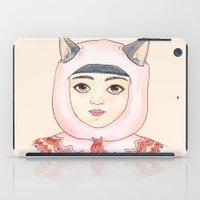 robin hood iPad Cases featuring Hood by Juliette Dudley
