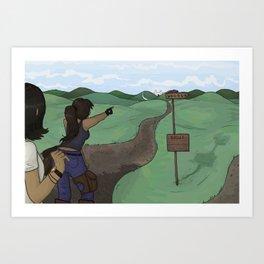 Castle print Art Print