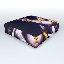 Hindu Ganesha 3 Outdoor Floor Cushion