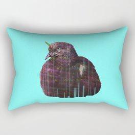 Disco pigeon unicorn Rectangular Pillow