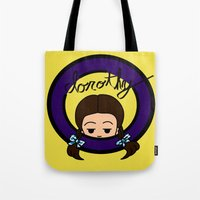 dorothy Tote Bags featuring Dorothy by Nightmare Productions