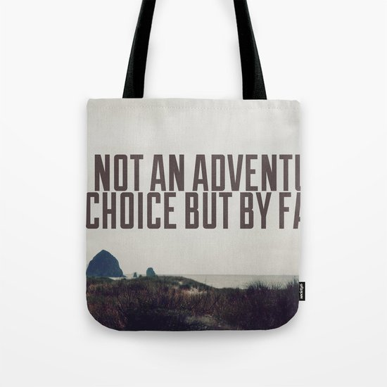 Adventurer by Fate Tote Bag