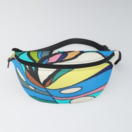 Tropical exotic plant Fanny Pack