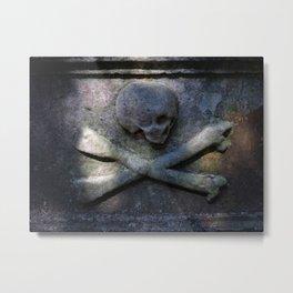 Tharrrrrr Be Pirates Metal Print