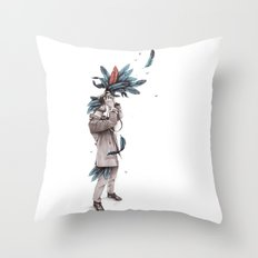 Ornis Throw Pillow