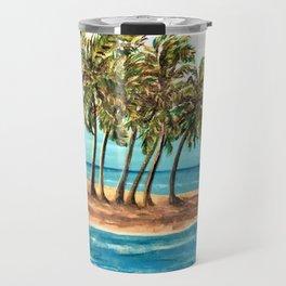 Private Island Painting Travel Mug