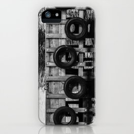 Tyre bumpers - Tasmania iPhone Case