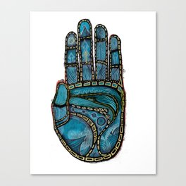The Hand Of (Free)Time Canvas Print