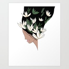 Free Blossom Art Print