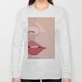 up close lips Long Sleeve T-shirt