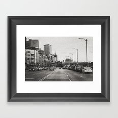 City Grain Framed Art Print
