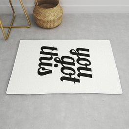 You Got This Motivational Quote Rug