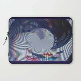 Pixellated Lotus Laptop Sleeve