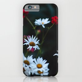 White & Red iPhone Case