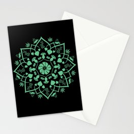 Psychedelic Chat Stationery Cards