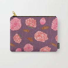 Carnations & Crickets Carry-All Pouch