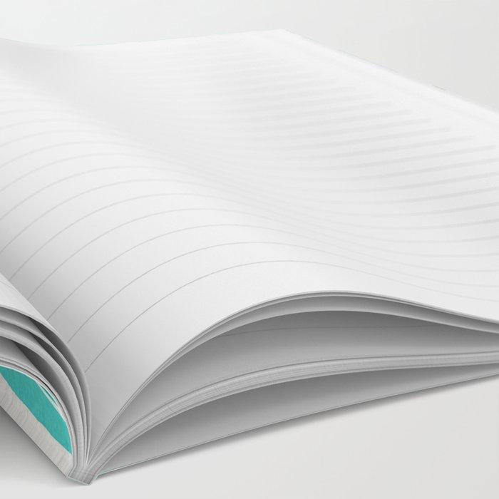 Crème de la Crème – Turquoise Notebook